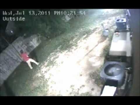 Ocean Pines Maryland Vandalism on Camera!
