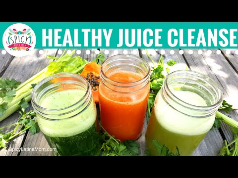 3 Juices for Colon Cleansing | Colitis and Constipation Remedies | Spicy Latina Mom