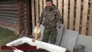 Как сделать мини червятник(Проверенные семена томатов и других культур: http://semena.svoitomaty.ru/ Как сделать мини червятник., 2015-04-26T21:03:47.000Z)