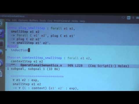 Chlipala12 (operational semantics, evaluation contexts continues)