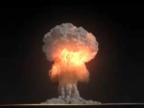 Nuclear Explosion | atomic bomb mushroom cloud