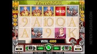 Victorious™ Video Slot by Netent Casino (Net Entertainment Software)