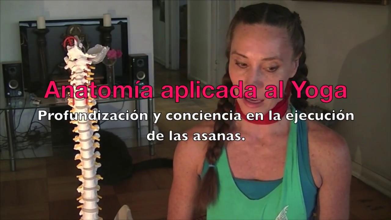 Taller de Anatomía aplicada al Yoga. - YouTube