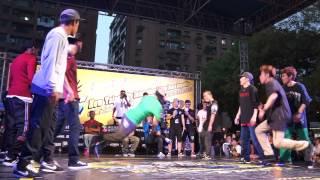 20121110 新北市國際街舞大賽 Breaking Bboyworld (USA) vs JinJo Crew (KOREA) Tie Break 1