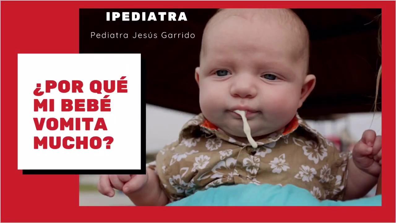 mi bebe no quiere comer y cuando come vomita