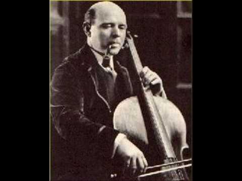 Pablo Casals - Prelude from Cello Suite No. 3 (BACH)