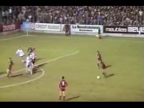 11 décembre 1985 Neuchâtel Xamax - Dundee United 3-1 AP / 1/8 finale coupe UEFA