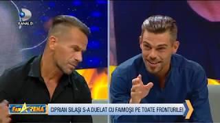 FanArena (07.11.) - Ciprian Silasi si Cristian Geaman fata in fata dupa conflictul de la EXATLON!