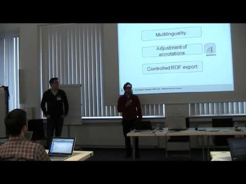 Semantic MediaWiki for Collaborative Corpora Analysis