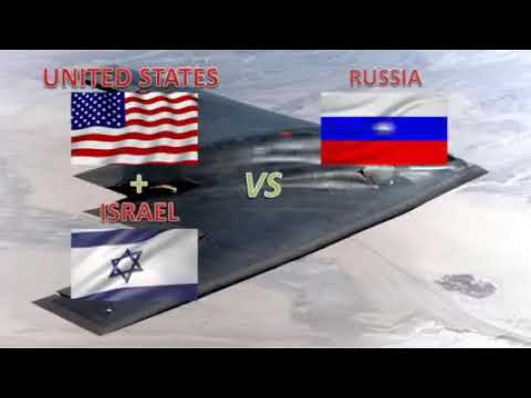 UNITED STATES & ISRAEL  vs  RUSSIA & IRAN - Military Power Comparison