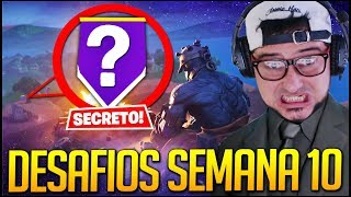 position! SECRET BANNER de la SEMAINE 10 SEASON 7 écran de chargement Fortnite Battle Royale
