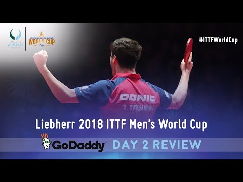 Day 2 Daily Review presented by GoDaddy  | 2018 ITTF Men's World Cup