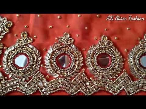 Indian best Saree Fashion/hand work