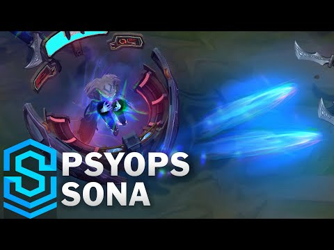 PsyOps Sona Skin Spotlight - League of Legends