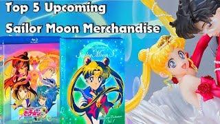 Top 5 Upcoming Sailor Moon Merchandise 2018  | Ger Sub