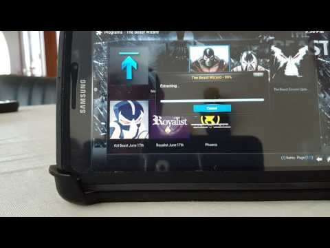 How to install The Beast on a android device