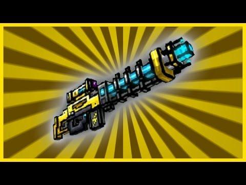 (Pixel Gun 3D) Electro Blast Rifle Gun Review