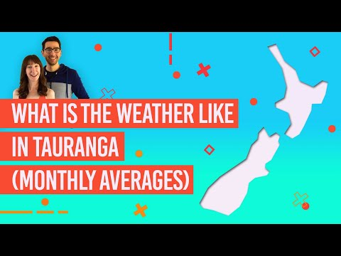 What Is The Weather Like In Tauranga? - 12 Month Average -