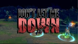 Repeat youtube video Instalok - Don't Let Me Down (Bring Me The Horizon - Drown PARODY)