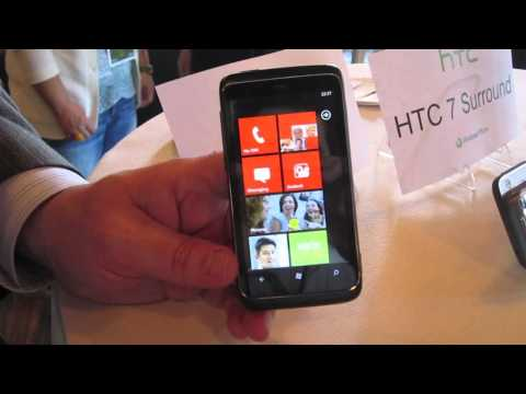 HTC 7 Trophy Hands On