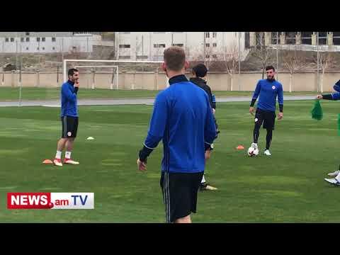 Armenian NT open training ahead of fixture against Estonia