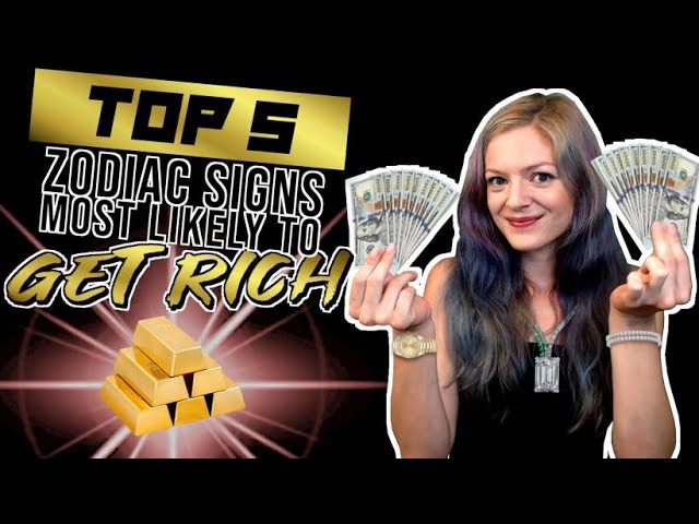5 Zodiac Signs Likely To Be Rich