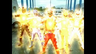 Power Ranger Dino Trueno | Batalla Final - Rangers vs Mesogog