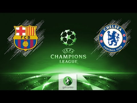 DESAFIO DA CHAMPIONS! Barcelona vs Chelsea