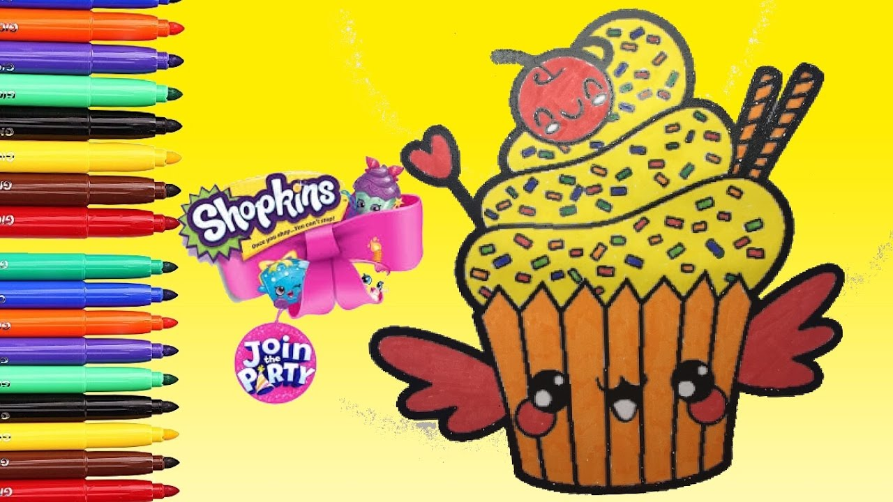 Squishy Dolcetto Shopkins Da Colorare Disegni Da Colorare