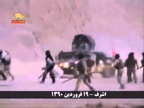 Iraqi Forces of Iraq's al-Maliki Continue Bloodshed in Defenseless Camp Ashraf, April 8, 2011.flv