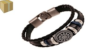 Мужской браслет на руку с алиэкспресс AliExpress(, 2017-01-14T21:07:11.000Z)