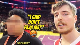 MR BEAST TOOK OVER MY YOUTUBE CHANNEL! *Trolling Security Guard*