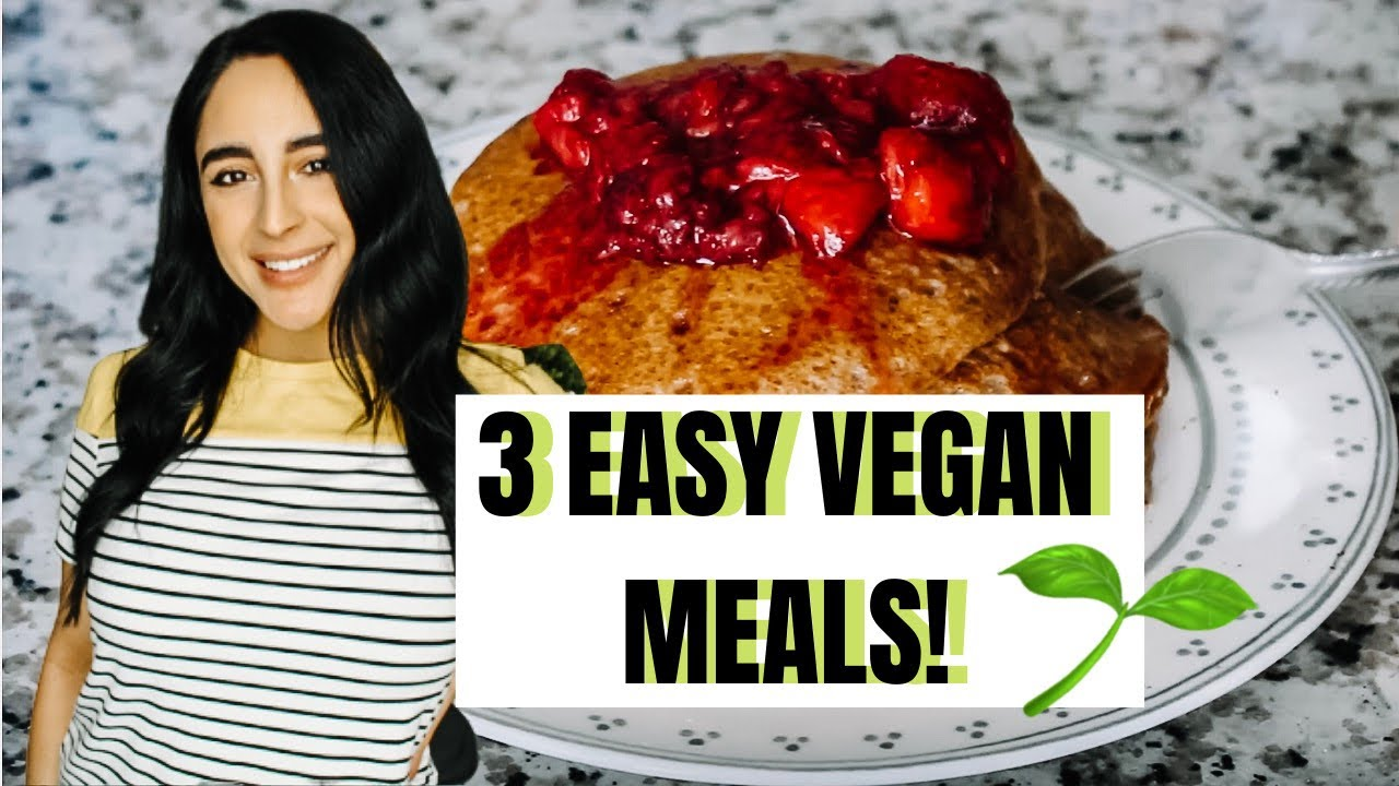 Plant based meal ideas: gluten free and soy free 2020