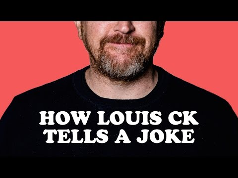 The Four Strategies Louis CK Uses to Tell Better Jokes