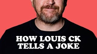 How Louis CK Tells A Joke Is So Funny!