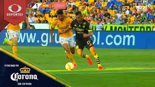 Gol de Miguel Sansores | Tigres 0 - 1 Monarcas | Clausura 2019 - J15 | Presentado por Corona