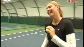 Maria Sharapova - On Her own Grunting Issue