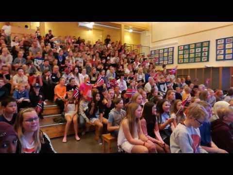 Fjelltun skole, Jørpeland: Vi roper høyt hurra (Skolenes sangdag 2017)