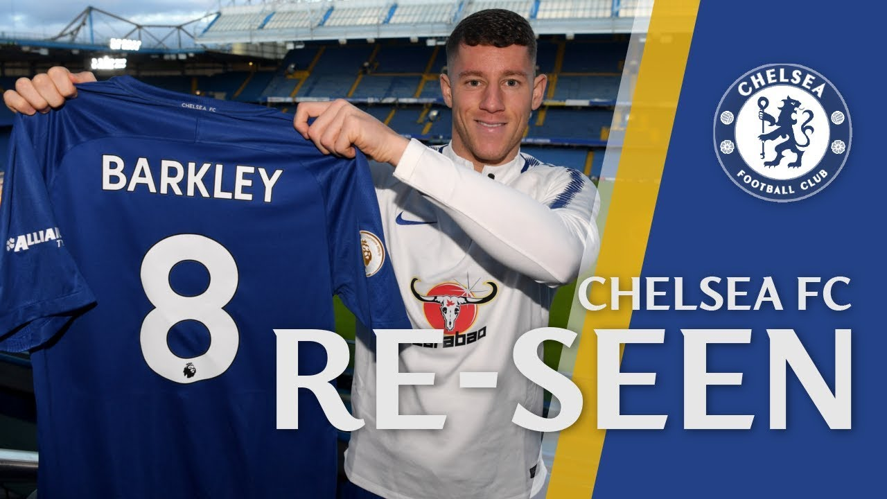pick up cb8c8 e0859 Our New Number 8 - A First Look At Ross Barkley As A Chelsea Player |  Chelsea Re-seen