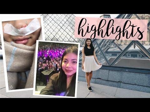 Prasklá céva v nose, příběh z autobusu, Utubering, Paříž | Highlights #3