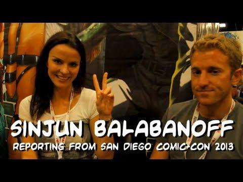 Sinjun Balabanoff interviews actress and PORCELAIN creator Ana Alexander at San Diego Comic-Con 2013.