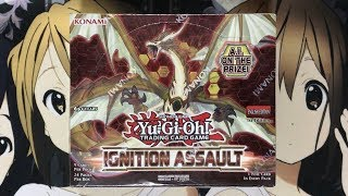 Opening My Ignition Assault Yugioh Booster Box TCG