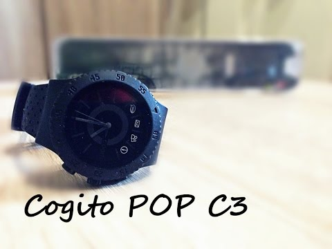 Should you buy it? #1 Cogito pop c3 [CHEAP] Smartwatch REVIEW & WATER RESIST Test (IOS) [FullHD]