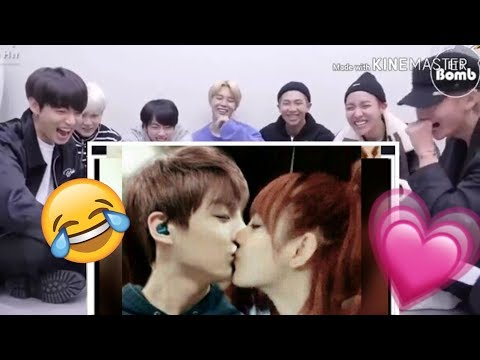 BTS REACTION To ■ LISKOOK 🐰🌹(fan Made) Edit BLACKPINK
