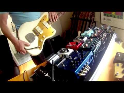 J Mascis Jazzmaster - Pedal Board - Laney VH100R