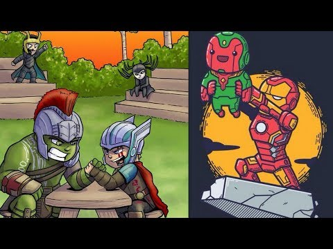 30+ Hilariously Cute Baby Avengers Comics To Make You Laugh | Marvel