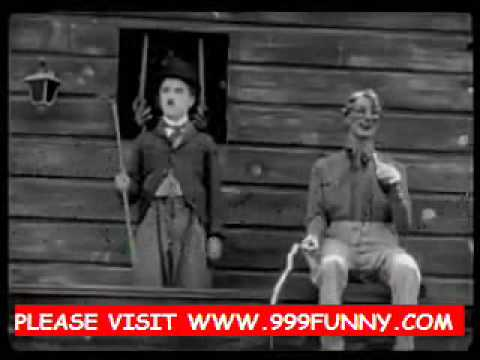 very funny Charlie Chaplin Escape from police part2