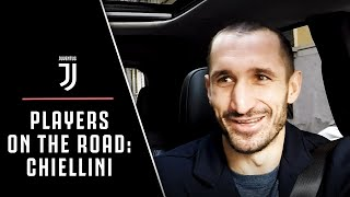 JUVENTUS PLAYERS ON THE ROAD: GIORGIO CHIELLINI