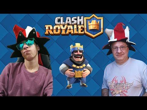 Clash Royale LIVE Apukámmal