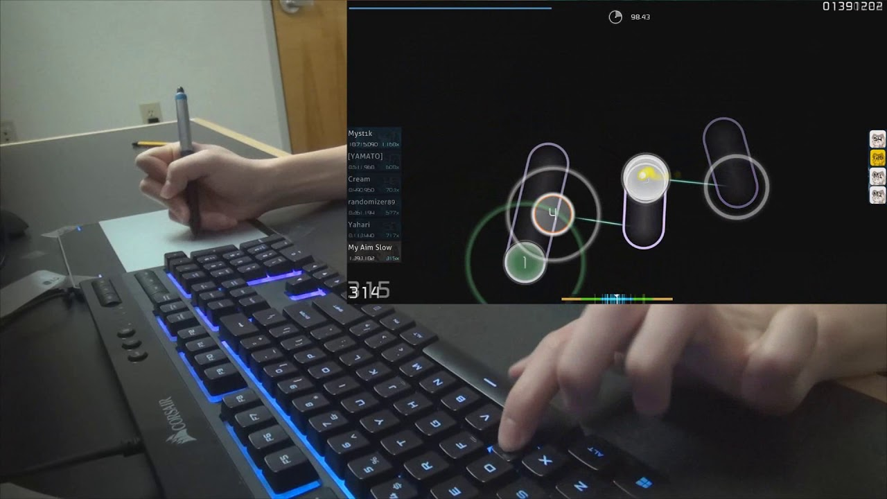 60e15e6d768 WHY YOU DON'T USE THE KEYBOARD WHEN YOU PLAY OSU? - YouTube
